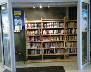Book-swap-shelves